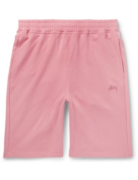Stock Loopback Cotton Jersey Shorts by Stüssy