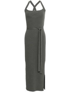 Ribbed Knit Midi Dress by Theory