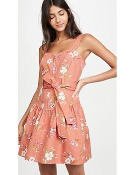 Sleeveless Lita Linen Dress by Rebecca Taylor