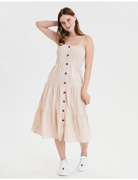 Ae Tiered Maxi Dress by American Eagle Outfitters