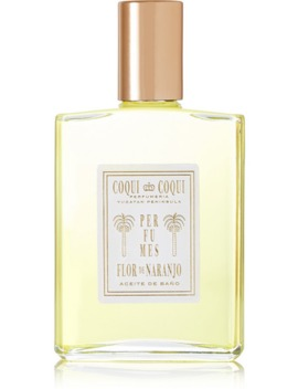 Orange Blossom Bath Oil, 100ml by Coqui Coqui