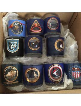Set Of 10 Vintage Nasa Apollo Program Glasses To Celebrate 50th Anniversary by Ebay Seller