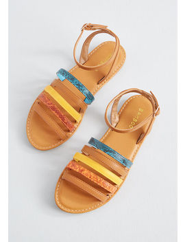 Colors Of Summer Strappy Sandal by Modcloth