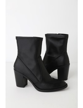 Juke Black Stella High Heel Booties by Dv By Dolce Vita