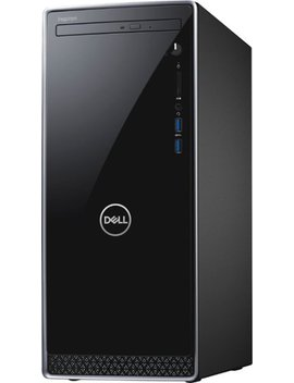 Inspiron Desktop   Intel Core I7   12 Gb Memory   256 Gb Solid State Drive   Black With Silver Trim by Dell