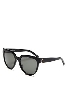 Women's Cat Eye Sunglasses, 57mm by Saint Laurent