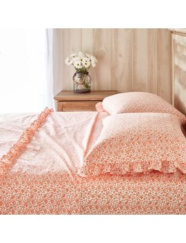 The Pioneer Woman Calico Floral Ruffle Sheet Set by The Pioneer Woman