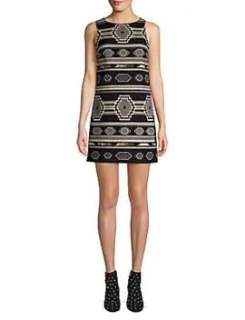 Clyde A Line Shift Dress by Alice + Olivia