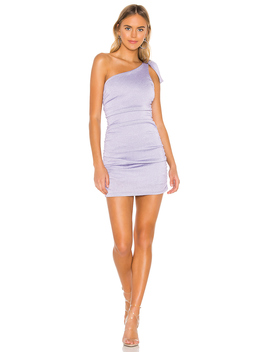 Raelyn Bow Tie Dress by Superdown