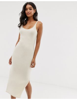 All Saints Blyth Knitted Slip Midi Dress by All Saints