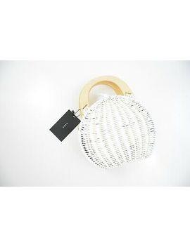 Brand New With Tags Zara Natural/White Handbag Size M by Zara