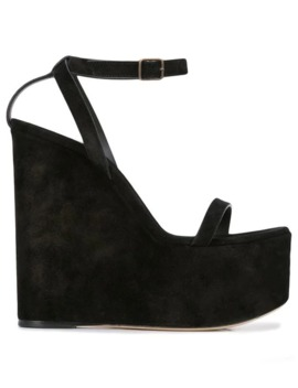 Espadrille Wedge Sandals by Saint Laurent