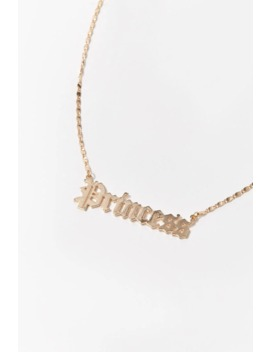 Princess Pendant Chain Necklace by Forever 21