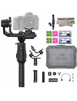 2019 Dji Ronin S Essentials Kit 3 Axis Gimbal Stabilizer For Mirrorless And Dslr Cameras, Tripod, Gimbal Hook And Loop Strap, 1 Year Limited Warranty, Black(Cp.Rn.00000033.01) by Dji