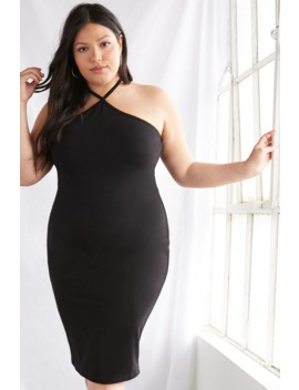 Plus Size Halter Cami Dress by Forever 21