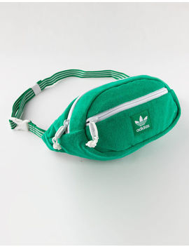 Adidas Originals Terry Waist Green Fanny Pack by Adidas