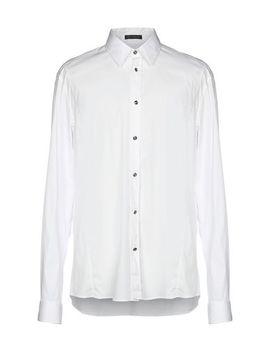 Versace Однотонная рубашка   Рубашки by Versace