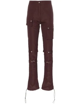 High Waisted Utility Trousers by Supriya Lele