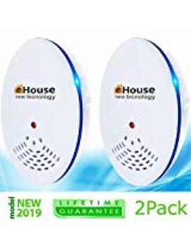 Ehouse Electronic Plugin   Get Rid Of   Rodents, Squirrels, Mice, Rats, Insects   Roaches, Spiders, Fleas, Bed Bugs, Flies, Ants, Mosquitos, Fruit Fly! (2 Pack) Blue Night Light In Home by Ehouse