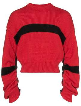 Reconstructed Striped Jumper by Calvin Klein Jeans Est. 1978