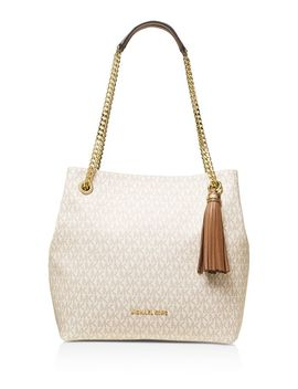 Large Logo Shoulder Tote by Michael Michael Kors
