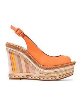 leather-platform-espadrille-wedge-sandals by valentino-garavani