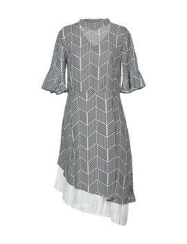 Cubic Knee Length Dress   Dresses by Cubic