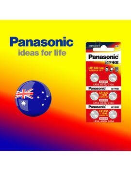 6 X Panasonic 0%Hg Lr1130 Battery (Ag10/390)1.5 V Alkaline Batteries Sydney Local by Panasonic