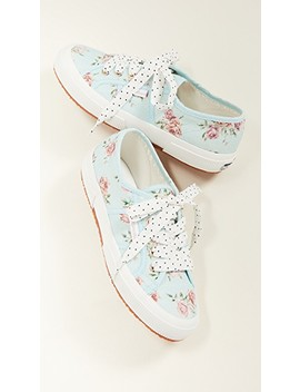 X Love Shack Fancy 2750 Provence Floral Sneakers by Superga