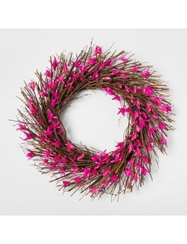 "21.2"" Decorative Dried Wreath   Smith &Amp; Hawken by Smith & Hawken"