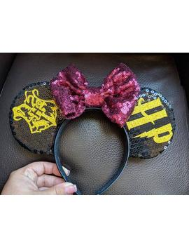Harry Potter Minnie Mouse Ears by Etsy