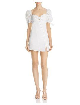 Macaroon Hook Front Mini Dress by For Love &Amp; Lemons