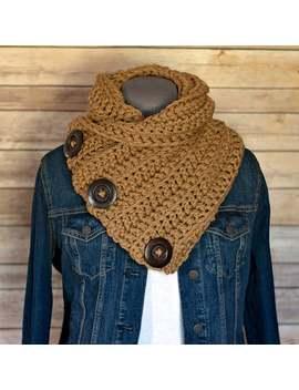 Delaney Crochet Scarf, For Women, Cowl Neck Warmer, Cowl Chunky Scarves For Women, Black Friday, Chunky Scarf, Crochet Scarf Women by Etsy
