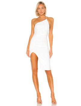 Brynn Ruched Midi Dress by Superdown