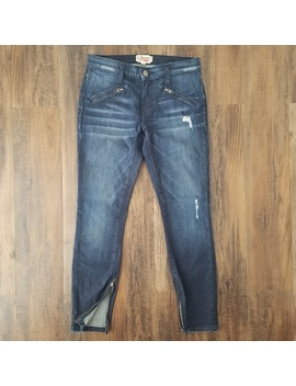 Current/Elliot The Silverlake Zip Skinny Jean by Current/Elliott