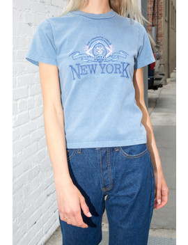 Helen New York Top by Brandy Melville