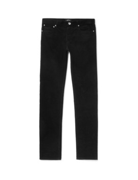 Slim Fit Cotton Corduroy Trousers by A.P.C.