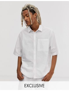 Collusion Boxy Oxford Shirt by Collusion