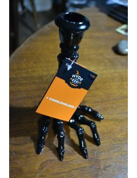 ~-black-hyde-and-eek!-boutique-skeleton-arm-halloween-candle-holder-65-x-45-in by hyde-and-eek-boutique