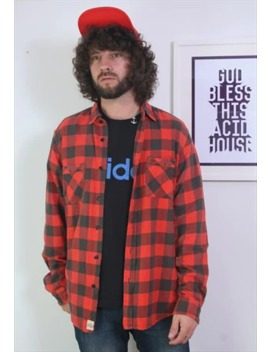 Vintage Flannel Thick Check Shirt , Xl by Purple Hat Vintage