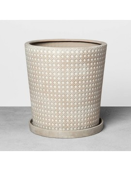 Caning Planter Gray   Hearth &Amp; Hand With Magnolia by Hearth & Hand With Magnolia
