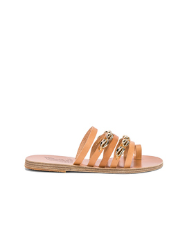 Niki Gold Shells Sandal by Ancient Greek Sandals