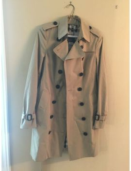 Nwt Authentic Burberry LondonSandringham Honey Trench Coat Mid Size 4 Us by Burberry