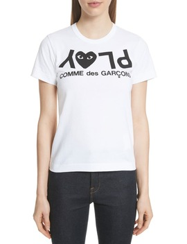 Logo Tee by Comme Des GarÇons Play