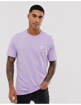 Adidas Originals Essentials T Shirt In Lilac by Adidas Originals