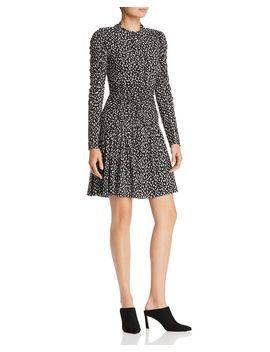Mini Cheetah Print Dress by Rebecca Taylor