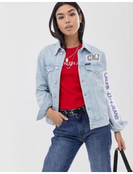 calvin-klein-jeans-denim-jacket-with-patches by calvin-klein