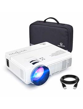 Vankyo Leisure 3 Mini Projector, Full Hd 1080 P And 170'' Display Supported, 2400 Lux Portable Movie Projector With 40,000 Hrs Led Lamp Life, Compatible With Tv Stick, Ps4, Hdmi, Vga, Tf, Av And Usb by Vankyo