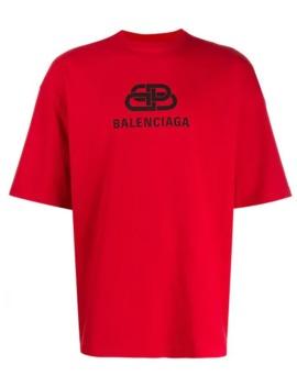 Camiseta Con Logo Bb by Balenciaga