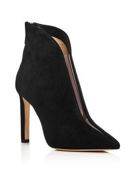 womens-bowie-100-clear-cut-out-booties by jimmy-choo